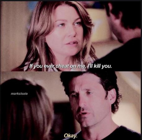 Meredith Grey Killed Derek Shepherd