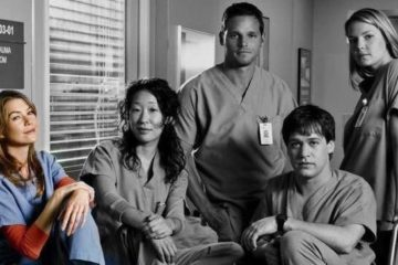 Greys anatomy original cast
